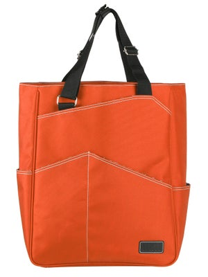 Maggie Mather Tennis Tote Bag Orange