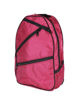 Maggie Mather Tennis Backpack Bag Berry