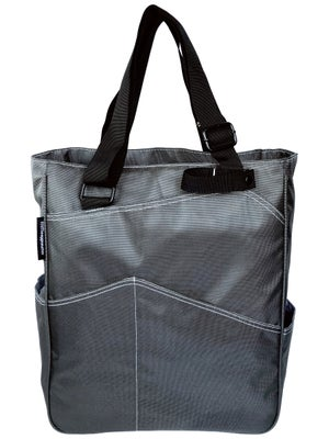 Maggie Mather Tennis Tote Bag Pewter