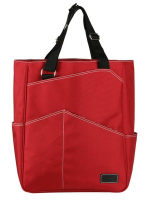 Maggie Mather Tennis Tote Bag Red