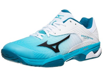 b030d983aef Product image of Mizuno Wave Exceed Tour 3 AC White Blue Men s Shoes