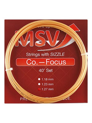 MSV Co.-Focus 16L (1.27) Aqua Blue String