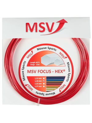 MSV Focus Hex 17L (1.18) White String