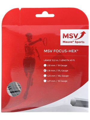 MSV Focus Hex 17L (1.18) String