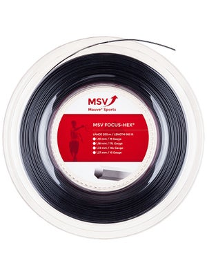 MSV Focus Hex 17L (1.18) String Reel Black