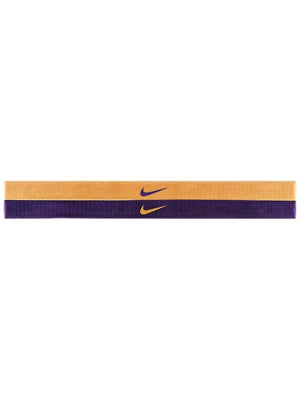 Nike Adjustable Hairband 2-Pack Mango/Grape
