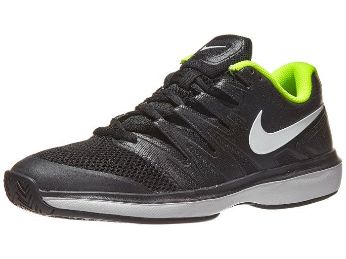 Pantano cada vez Correspondiente a  Nike Air Zoom Prestige Black/White/Volt Men's Shoe