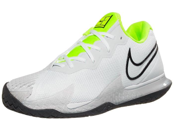 Lugar de nacimiento Residuos estático  Nike Air Zoom Vapor Cage 4 White/Volt Men's Shoe