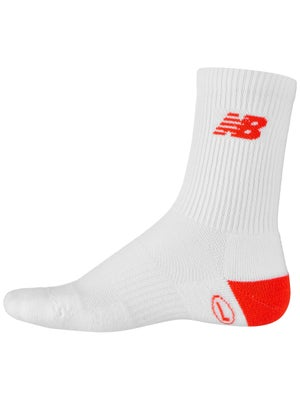 db68df4173568 Product image of New Balance Men's Ace Crew Sock White/Flame