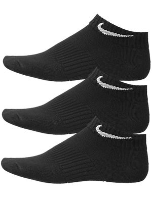 Nike Junior Low-Cut Cotton 3-Pack Socks