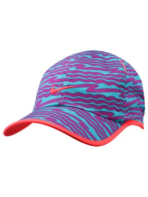 Nike Boy's Summer All Over Print Hat Turbo Green/Grape