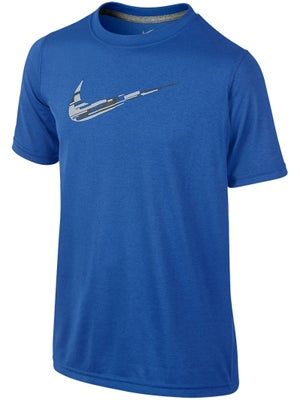 Nike Boy's Summer Rain Camo Swoosh Top