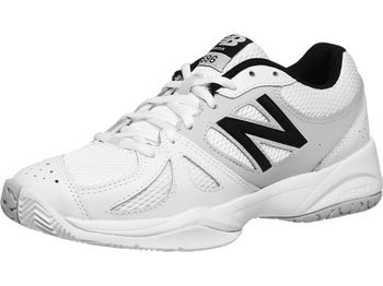 New Balance WC 696 White/Silver D Women's Shoe