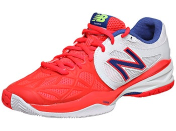 New Balance WC 996 White/Pink D Women's Shoe