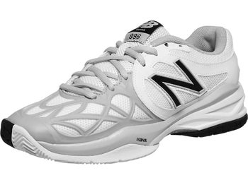 New Balance WC 996 White/Silver D Women's Shoe