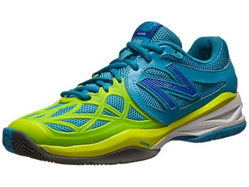 New Balance WC 996 D Blue/Yellow Women's Shoe