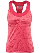 New Balance Womens Spring Printed Racerback Tank