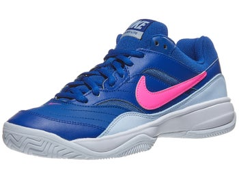 huge selection of 757da 05b36 Product image of Nike Court Lite Indigo Blue Pink Women s Shoe