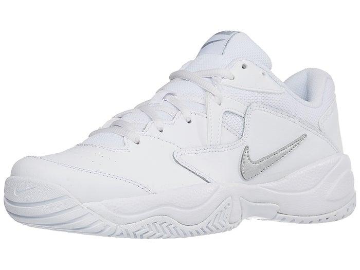 Nike Court Lite 2 White/Silver Women's Shoe