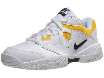58dfed5b08e Nike Court Lite 2 White/Black/Gold Men's Shoe
