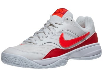the latest a3080 bdcd8 Product image of Nike Court Lite White Crimson Red Women s Shoe