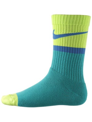 Nike Classic Swoosh Crew Sock Turbo Green