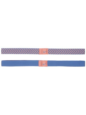 Nike Chevron Sport Hairband Atomic Pink/Blue