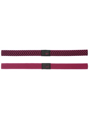 Nike Chevron Sport Hairband Raspberry/Black