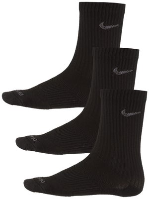 Nike Dri-Fit Cushion Crew Sock 3-Pack Black/Grey