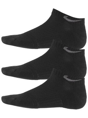 Nike Dri-Fit Cushion Low Cut Sock 3-Pack Black/Grey