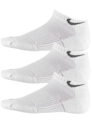 Nike Dri-Fit Cushion Low Cut Sock 3-Pack White/Grey