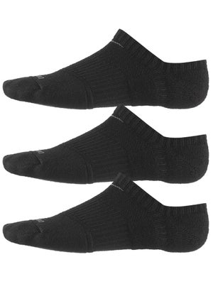 Nike Dri-Fit Cushion No Show Sock 3-Pack Black/Grey