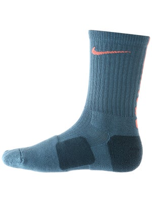 Nike Dri-Fit Elite Crew Sock Rift Blue/Mango