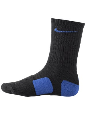 Nike Dri-Fit Elite Crew Sock Black/Royal
