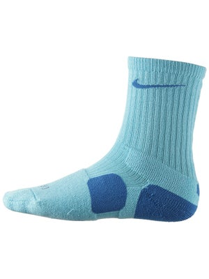 Nike Dri-Fit Elite Crew Sock Lt Blue/Blue