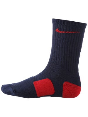 Nike Dri-Fit Elite Crew Sock Navy/Red
