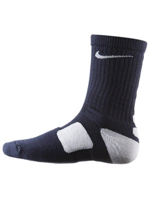 Nike Dri-Fit Elite Crew Sock Navy/White