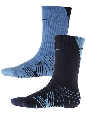 Nike Performance Crew Sock 2-Pack Lt. Blue/Navy