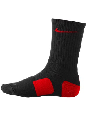 Nike Dri-Fit Elite Crew Sock Black/Red