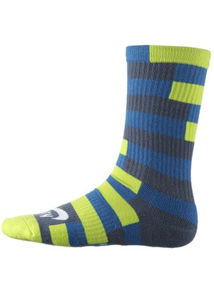 Nike Dri-Fit Striped Crew Sock Blue