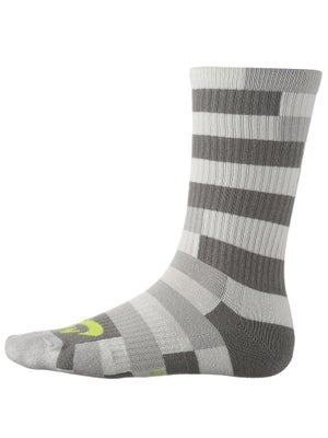 Nike Dri-Fit Striped Crew Sock Grey
