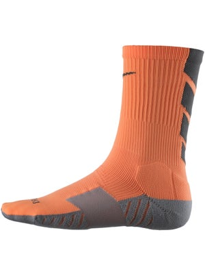 Nike Dri-Fit Stadium Crew Sock Atomic Or/Bk