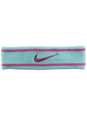 Nike Dri-Fit Striped Headband Glacier Ice/Pink