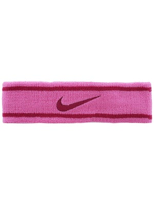 Nike Dri-Fit Striped Headband Pink/Magenta