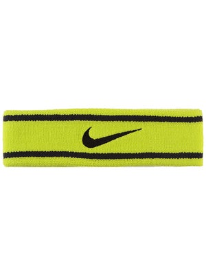 Nike Dri-Fit Striped Headband Venom/Black
