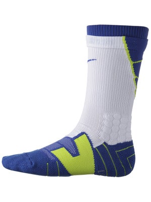 Nike Dri-Fit Vapor Crew Sock White/Blue