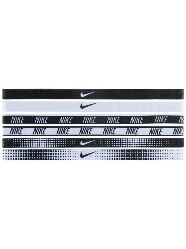 Accidental en casa Mirar furtivamente  Nike Hairbands 6-Pack Print Black/White