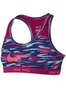 Nike Girl's Fall Hypercool Print Bra