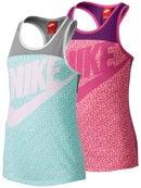 Nike Girl's Summer Print Logo Tank
