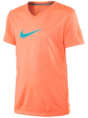 Nike Girl's Summer V-Neck Legend Top